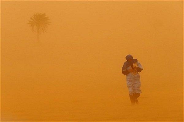 سرعت وزش باد در خراسان جنوبی به 90 کیلومتر در ساعت رسید