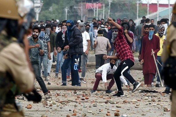 کشته شدن 4 جوان کشمیری در تیراندازی نیروهای هندی