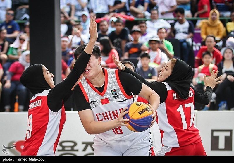 شکست تیم ملی بسکتبال بانوان ایران برابر روسیه در جام جهانی زیر 23 سال
