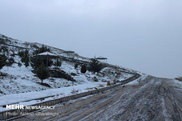 برف و باران در مناطق وسیعی از کشور، آخر هفته برفی در کوهستان