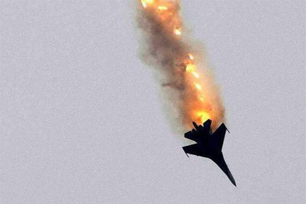 سقوط یک فروند جنگنده مغرب