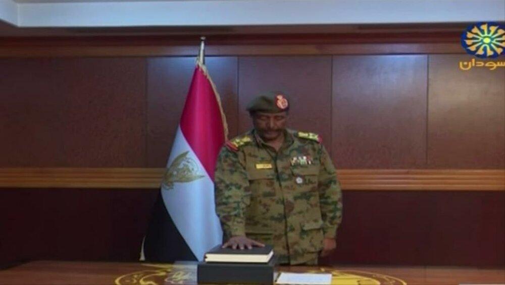 رئیس جدید شورای انتقالی سودان اولین فرمان را صادر کرد