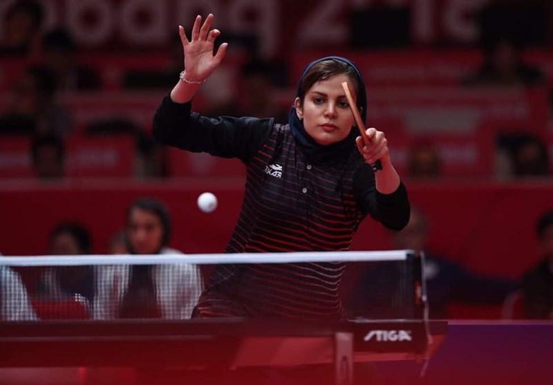 تنیس روی میز قهرمانی دنیا، فزونی دو بانوی ملی پوش ایران در دیدار نخست
