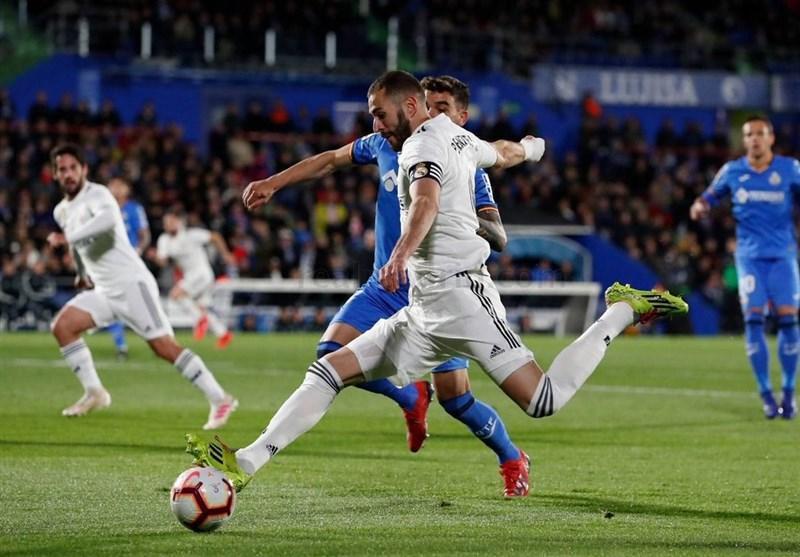 رئال مادرید در خانه ختافه امتیاز از دست داد
