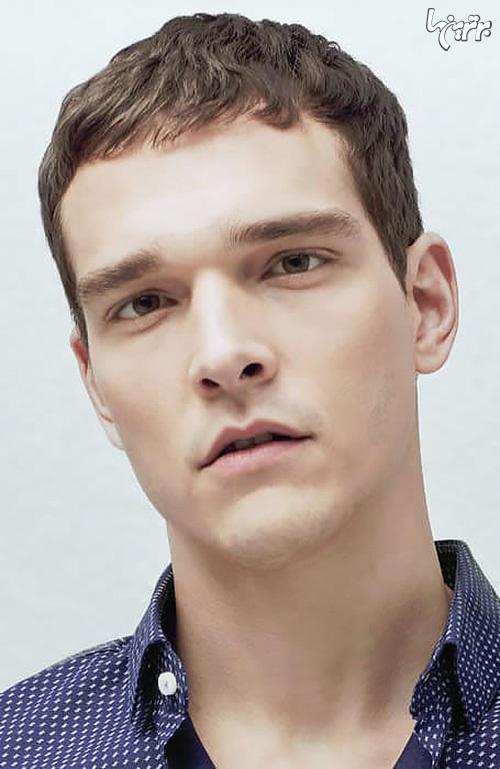 مدل موی مردانه برای پیشانی بلند ها