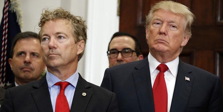 دولت ترامپ کوشش کرد رند پال را مقصر شکست در دیدار با ظریف معرفی کند