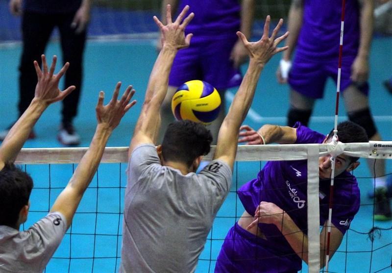 فزونی تیم والیبال نوجوانان ایران مقابل مصر در دیداری تدارکاتی
