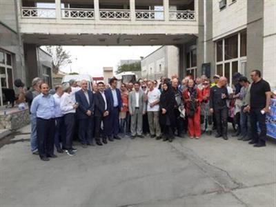 ورود تور رالی موتورسواری پاریس - اصفهان از مرز بازرگان به ایران