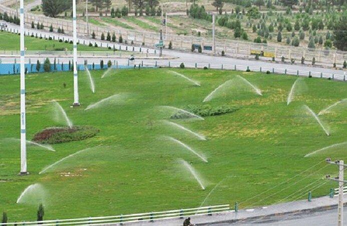 آبیاری بیش از 58 درصد فضای سبز شهر تهران با استفاده از شبکه های آبیاری مکانیزه و تحت فشار