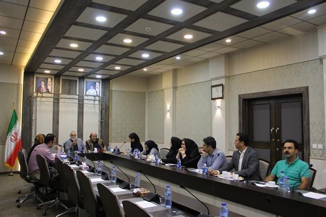 برگزاری جلسه هماهنگی نخستین کنگره حفاظت و مرمت آثار فرهنگی در مجموعه نیاوران