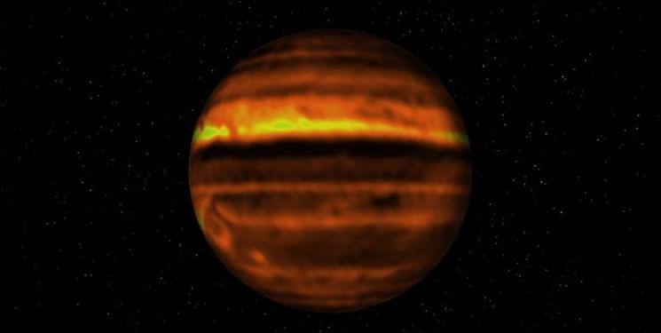 یک سیاره عظیم و شبیه به مشتری کشف شد