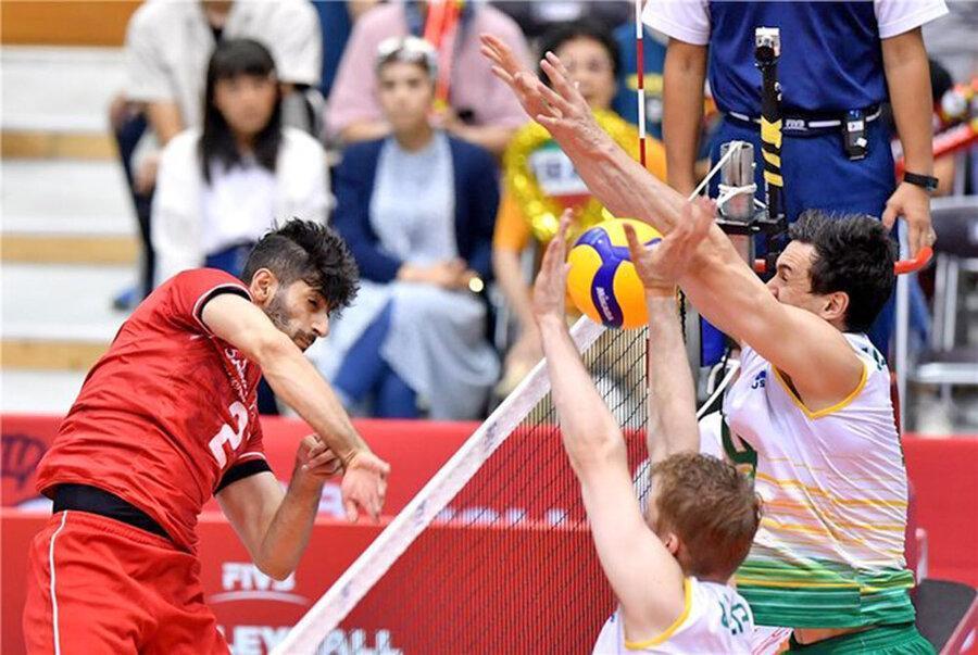 جام جهانی والیبال ، ایران، استرالیا را شکست داد