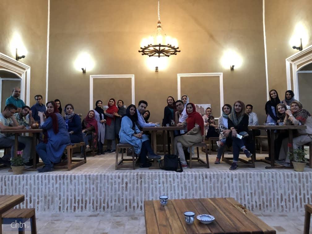 برگزاری دومین فم تور مهریز با حضور راهنمایان گردشگری یزد