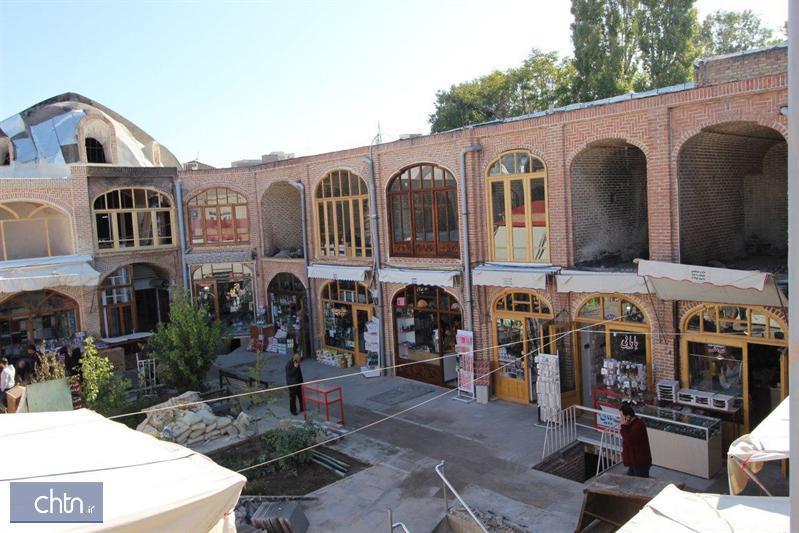 مرمت سرای ایکی قاپیلی بازار تبریز در سرانجام راه