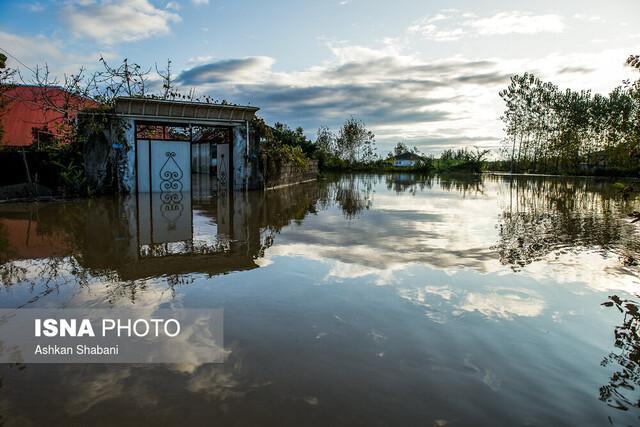خسارت بیش از 200 میلیارد تومانی بارش های اخیر در گیلان