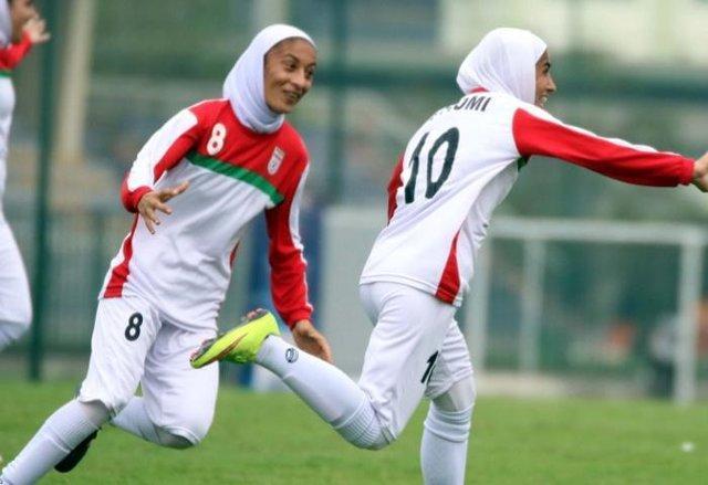 گزارش AFC از عملکرد تیم فوتبال بانوان ایران مقابل سنگاپور