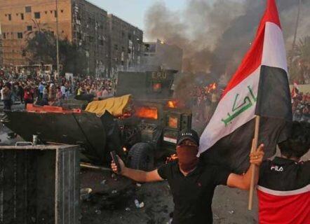 جدید ترین آمار از قربانیان اعتراضات مردم عراق