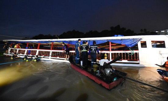 غرق شدن قایق مسافربری در مرکز اندونزی