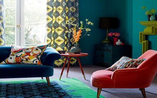 رنگ ها و ترکیب آن ها در دکوراسیون داخلی قسمت دوم