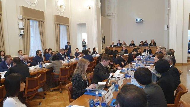 حضور معاون وزیر خارجه در کنفرانس بین المللی جهانی شدن در آسیای معاصر