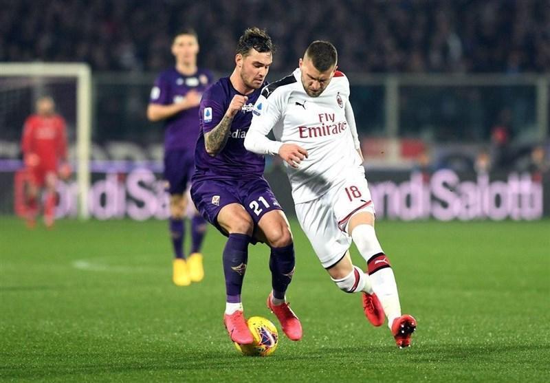 سری A، میلان پیروزی در خانه فیورنتینا را از دست داد
