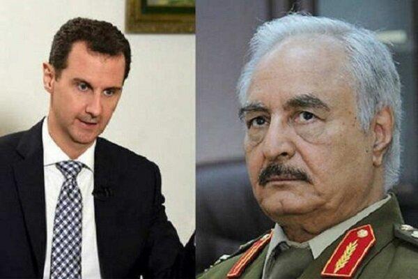 دیدار رئیس دستگاه اطلاعاتی مصر با بشار اسد، حفتر به دمشق رفته است؟