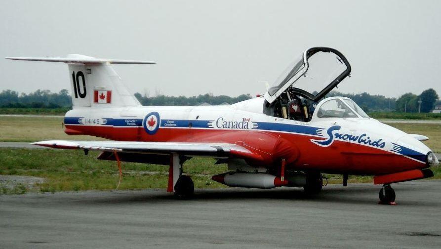 خبرنگاران سقوط جت نیروی هوایی کانادا یک کشته برجا گذاشت
