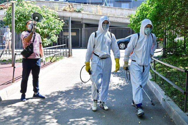تکمیل ظرفیت بیمارستان ها در آلماتی برای پذیرش بیماران کووید-19
