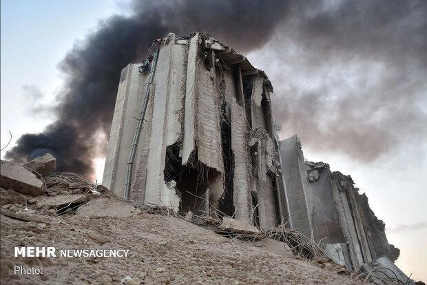 قدرت تخریبی انفجار بیروت به اندازه یک بمب هسته ای کوچک بود