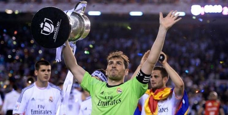 کاسیاس رسما از دنیای فوتبال خداحافظی کرد