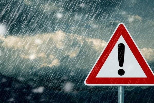 هواشناسی ایران 99، 8، 10، ورود سامانه بارشی به کشور، آغاز بارش ها در شمال غرب، غرب و سواحل دریای خزر