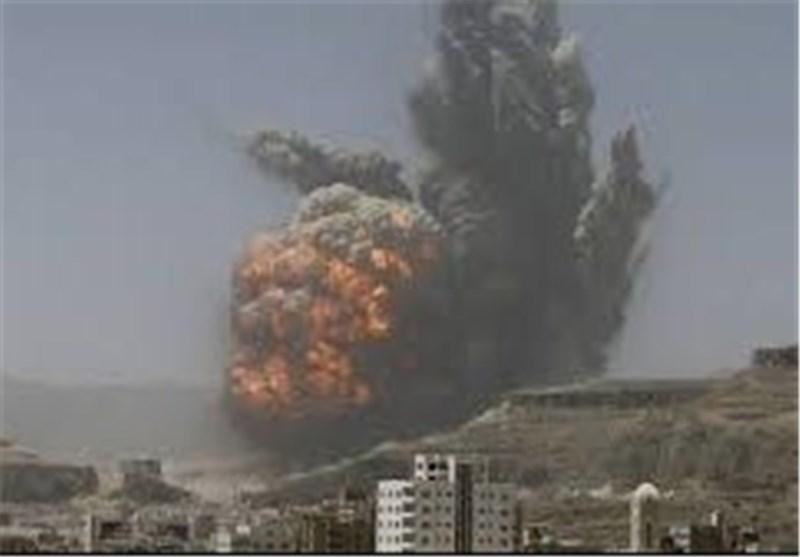 یمن، جنگنده های سعودی آمریکایی بعضی مناطق مسکونی را بمباران کردند