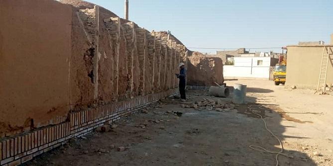 منزل تاریخی حقیقی قاین بازسازی شد