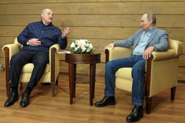 پوتین در سوچی میزبان رئیس جمهور بلاروس بود