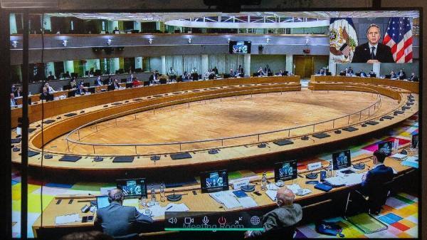 خبرنگاران بلینکن با شورای خارجی اتحادیه اروپا درباره ایران گفتگو کرد