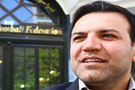 شهاب الدین عزیزی خادم، رییس فدراسیون فوتبال شد