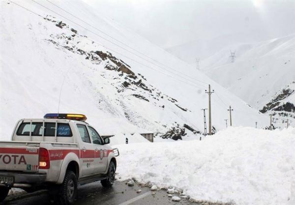 احتمال وقوع بهمن در ارتفاعات البرز و شمال غرب