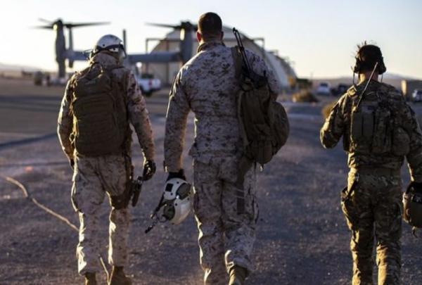 آمریکا بخشی از نیروهای خود را از عراق خارج کرد خبرنگاران
