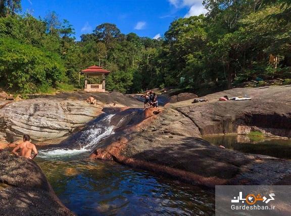 آبشار هفت چاه ؛جاذبه بی نظیر لنکاوی