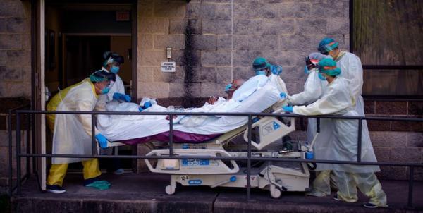 جانز هاپکینز: تلفات کرونا در آمریکا به 589 هزار نفر رسید