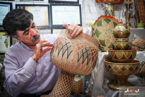 کسب مقام نخست جشنواره هنری هند به وسیله خاتم ساز شیرازی