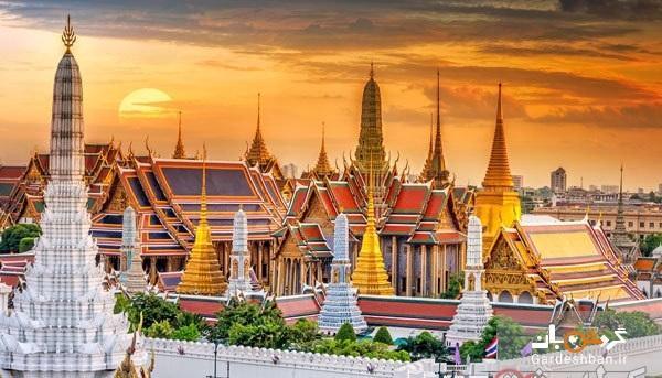 قصر عظیم تایلند؛زیباترین جاذبه بانکوک