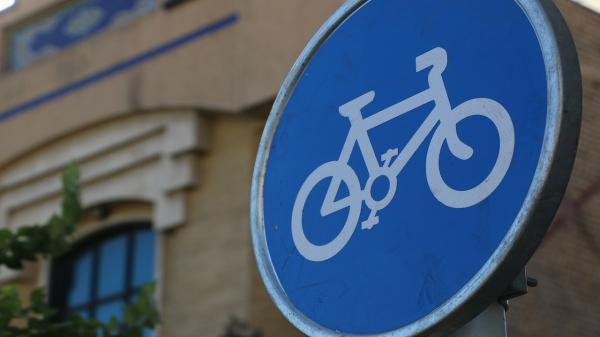ایجاد جهت تردد دوچرخه در خیابان 19 دی قم