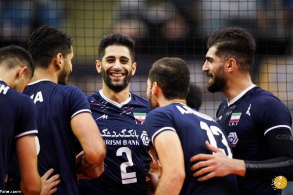 نتیجه بازی والیبال ایران ، چین تایپه