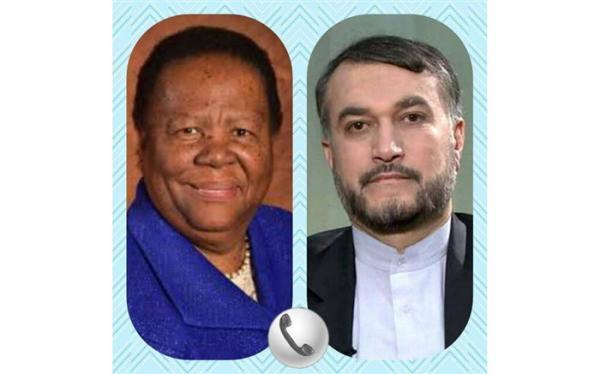 تور افریقای جنوبی: تاکید وزرای خارجه ایران و آفریقای جنوبی بر توسعه روابط دوجانبه